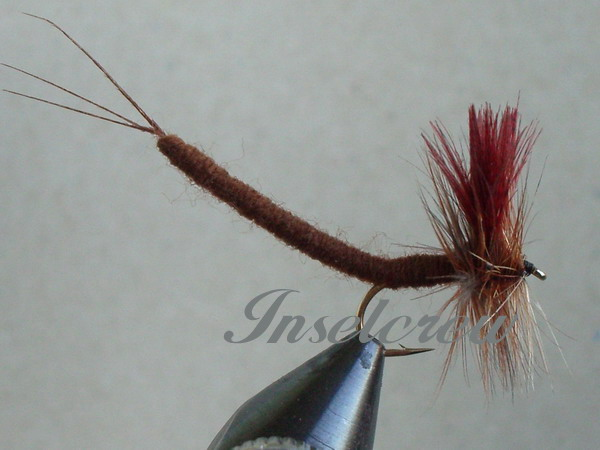 Brown Drake Extended Body Mayfly