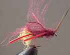 C.D.C. CADDIS TEARDROP EMERGER CLARET