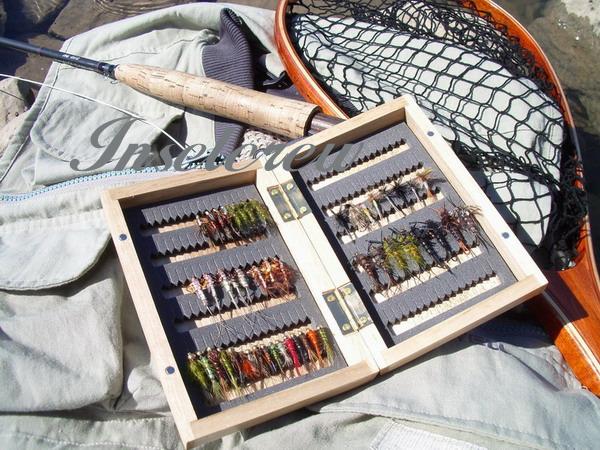Fliegenbox Holz