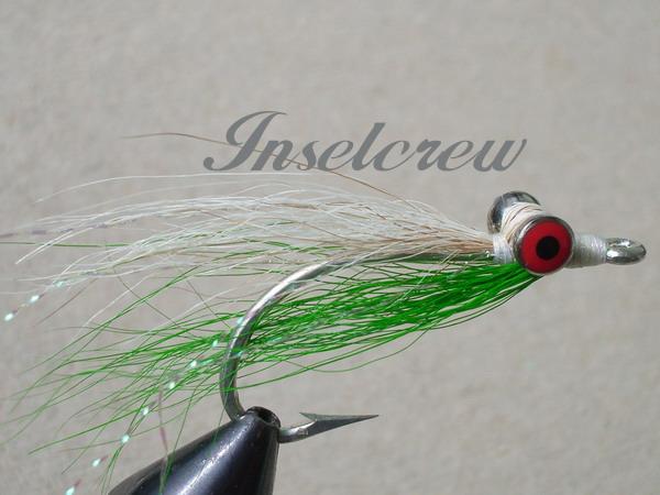 Clouser Minnow Chartreuse