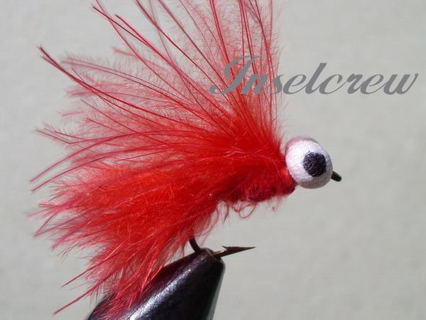 Red marabou stimulator