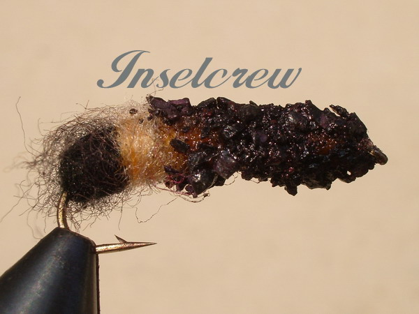 Cased Caddis Black