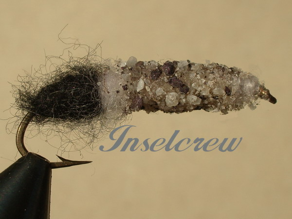 Cased Caddis Black/White
