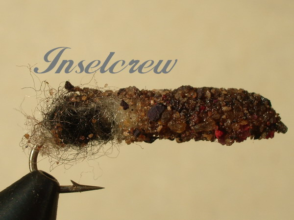 Cased Caddis Black/Brown big