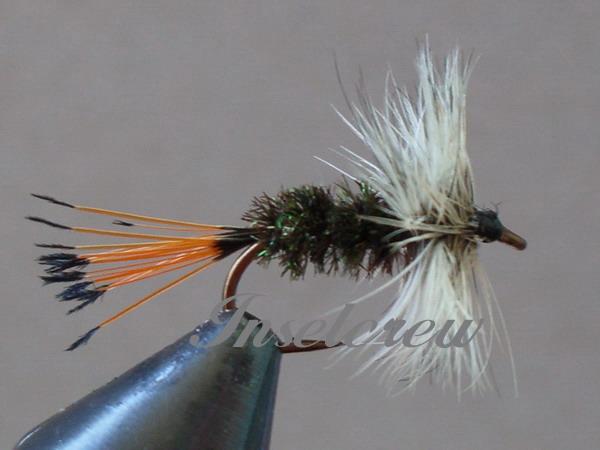 Badger Hackle Peacock