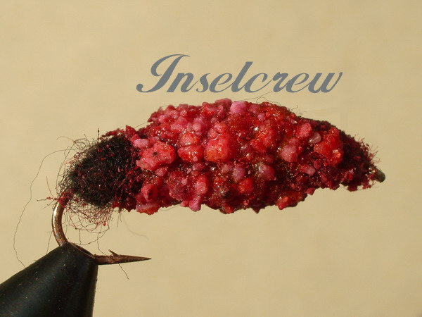 Cased Caddis Red